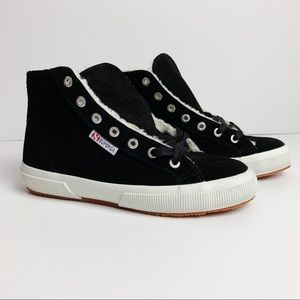 Superga | NWT Black Fantasia Shoes Sz 6.5